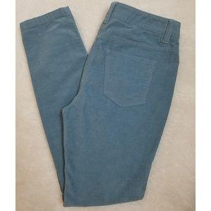 Boden light blue skinny corduroy pants size 4P